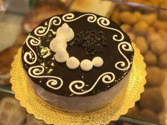 torta nocciola e cioccolata